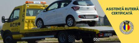 Autovehicul asistenta rutiera certificata in dotarea Tractari auto Ploiesti